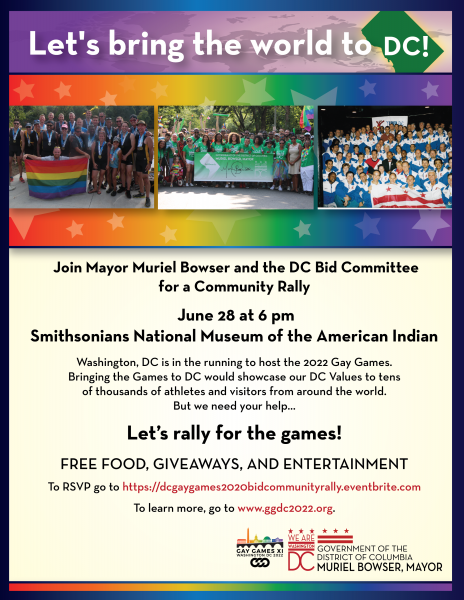 2022 Gay Games in DC