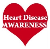 Heart Disease Awareness Logo