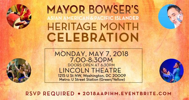 The Mayor's AAPI Heritage Month Celebration