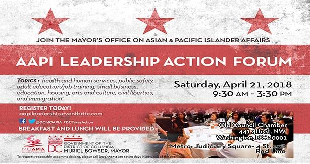 AAPI Leadership Action Forum