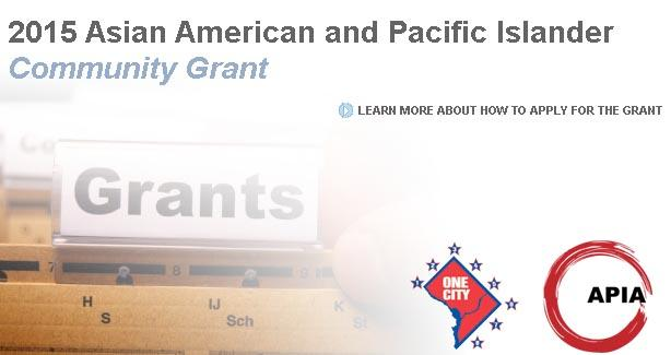 FY2015 AAPI Community Grant