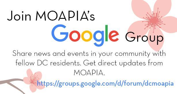 MOAPIA Google Group Flyer