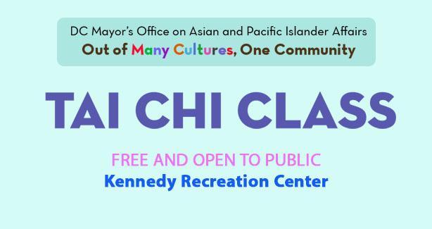 Tai Chi at Kennedy Rec Center