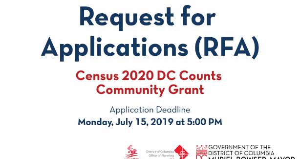 Census 2020 DC Count Grant image
