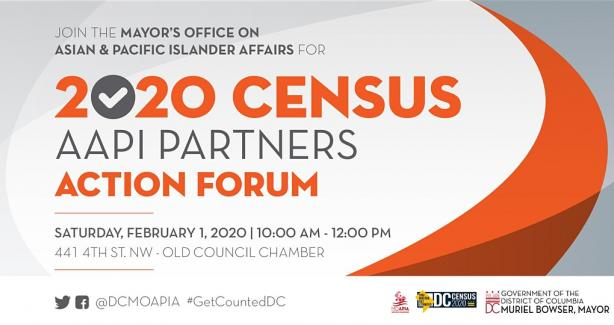 2020 Census AAPI Partners Action Forum