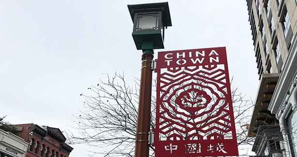 New Street Banners in Chinatown