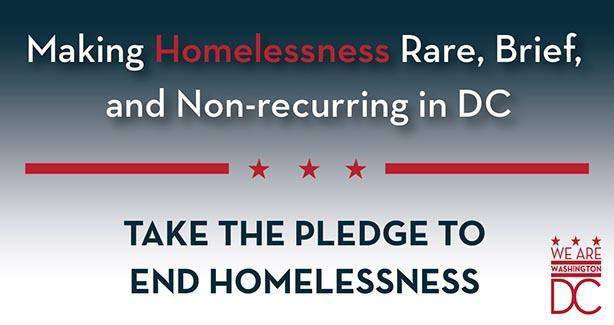 Pledge to End Homelessness in DC