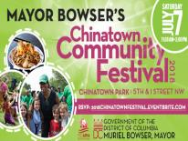 CHINATOWN COMMUNITY FESTIVAL – RESCHEDULED TO JULY 7
