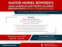 Flyer with Mayor Bowser
