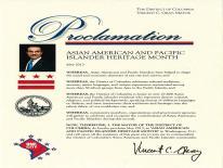 2013 AAPIHM Proclamation