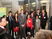 Mayor Vincent C. Gray Swears in New Members of the DC Commission on APIA