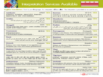 OHR Languages sheet